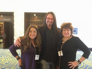 Mary Shomon, Brent Hardgrave, and Me Time coordinator Jane Frank at the Me Time Weekend, March 2016